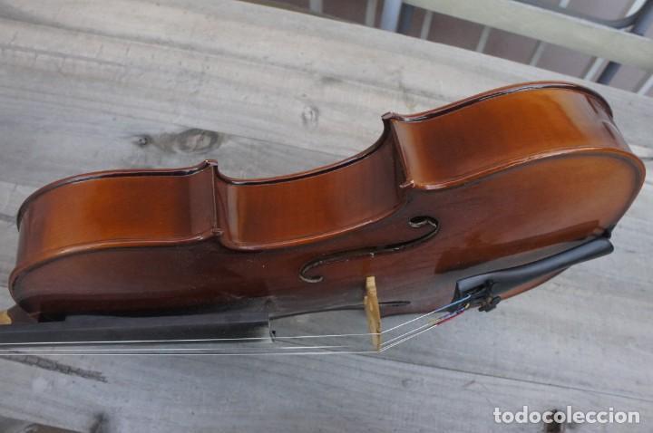 Instrumentos musicales: VIOLA 4/4 De Luthier construida artesanal. años 80 - Foto 4 - 221654710