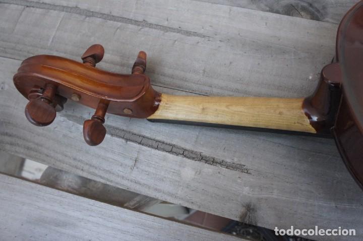 Instrumentos musicales: VIOLA 4/4 De Luthier construida artesanal. años 80 - Foto 6 - 221654710