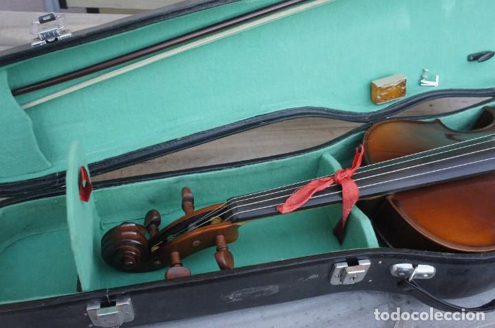 Instrumentos musicales: VIOLA 4/4 De Luthier construida artesanal. años 80 - Foto 7 - 221654710