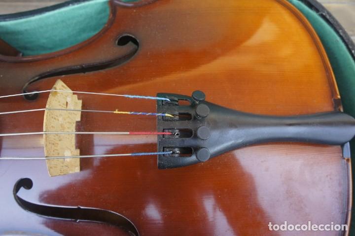 Instrumentos musicales: VIOLA 4/4 De Luthier construida artesanal. años 80 - Foto 8 - 221654710