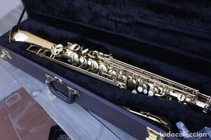 SAXO RECTO EN MIB, ALTO.NUEVO A ESTRENAR. (Música - Instrumentos Musicales - Viento Madera)