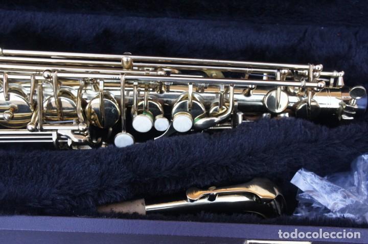 Instrumentos musicales: Saxo Recto en Mib, Alto.NUEVO A ESTRENAR. - Foto 4 - 221655578