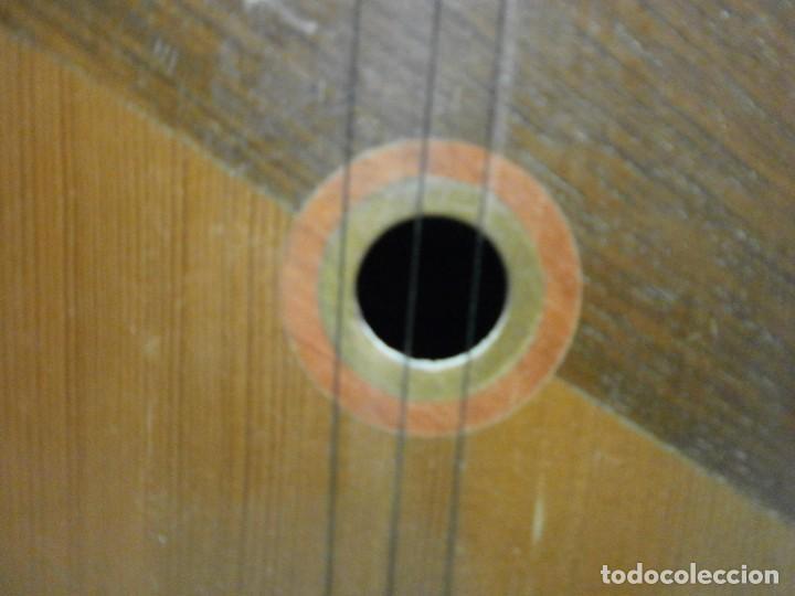 Instrumentos musicales: antiguo instrumento de cuerda a identificar laud ? ver fotos - Foto 3 - 221749098