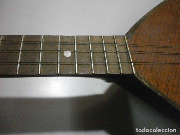 Instrumentos musicales: antiguo instrumento de cuerda a identificar laud ? ver fotos - Foto 4 - 221749098