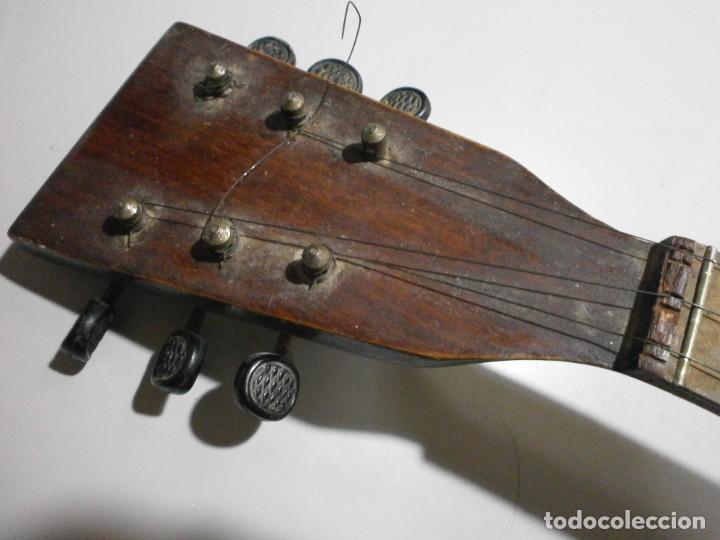 Instrumentos musicales: antiguo instrumento de cuerda a identificar laud ? ver fotos - Foto 6 - 221749098