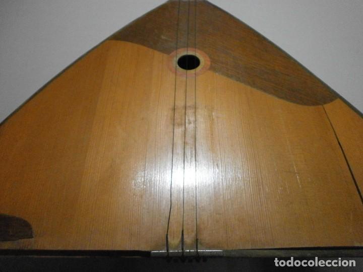 Instrumentos musicales: antiguo instrumento de cuerda a identificar laud ? ver fotos - Foto 7 - 221749098