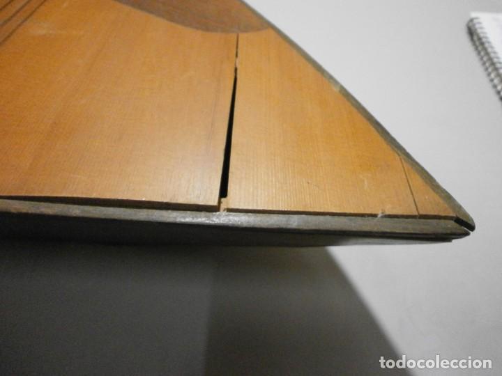 Instrumentos musicales: antiguo instrumento de cuerda a identificar laud ? ver fotos - Foto 10 - 221749098
