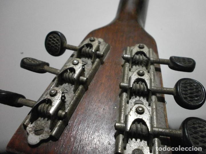 Instrumentos musicales: antiguo instrumento de cuerda a identificar laud ? ver fotos - Foto 16 - 221749098
