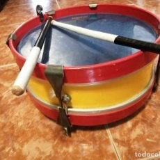 Instrumentos musicales: TAMBOR HONSUY PERCUSIÓN CON BAQUETAS. Lote 221795940