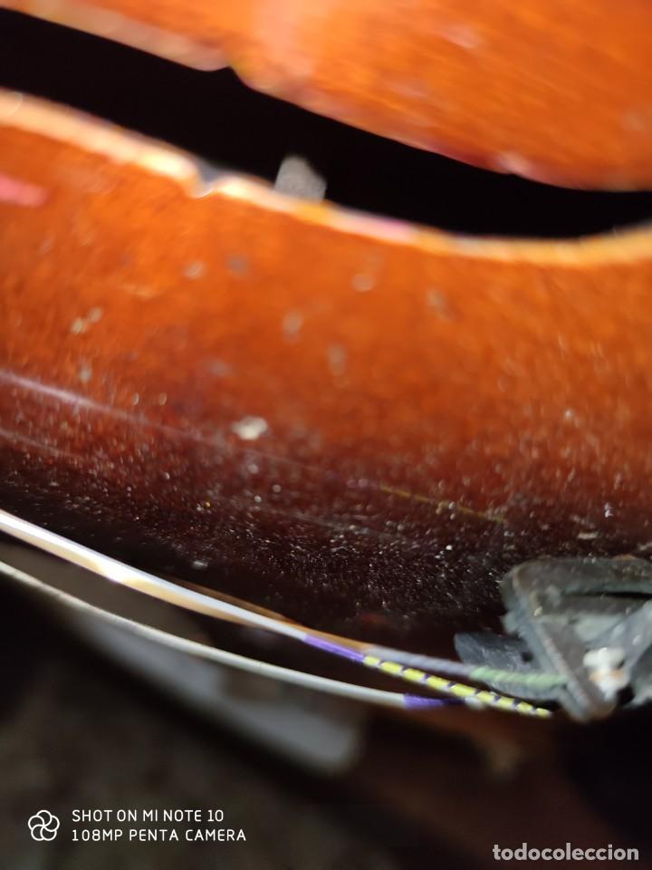 Instrumentos musicales: ANTIGUO VIOLIN INTERIOR FIRMA Antonius Stradiuarius MALETIN 76 cm violin 59 cm x 36 longitud 620,00 - Foto 24 - 202556562