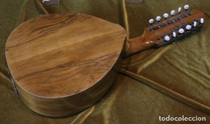 Instrumentos musicales: Bandurria, 60 x 28 cm, Telesforo Julve, Valencia, completa - Foto 6 - 221972225