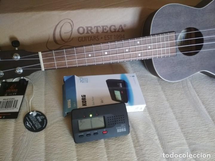 UKELELE CONCIERTO MARCA ORTEGA NUEVO. REGALO AFINADOR KORG GA-1 (Música - Instrumentos Musicales - Cuerda Antiguos)