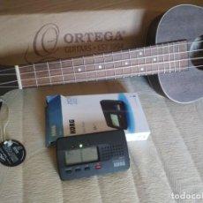 Instrumentos musicales: UKELELE CONCIERTO MARCA ORTEGA NUEVO. REGALO AFINADOR KORG GA-1. Lote 222104691