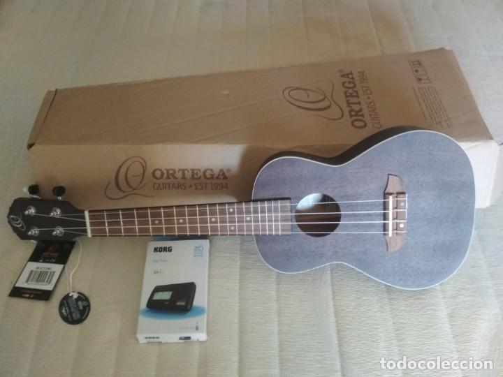 Instrumentos musicales: Ukelele Concierto marca Ortega nuevo. Regalo afinador Korg GA-1 - Foto 2 - 222104691