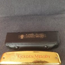 Instrumentos musicales: HOHNER COLDEN MELODY. Lote 222235337