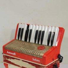 Instrumentos musicales: ACORDEÓN ANTONELLI SOLISTA PIANO TECLA 8 BAJOS. Lote 222305151