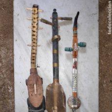 Instrumentos musicales: LOTE INSTRUMENTOS MUSICALES AFRICANOS. Lote 222340435