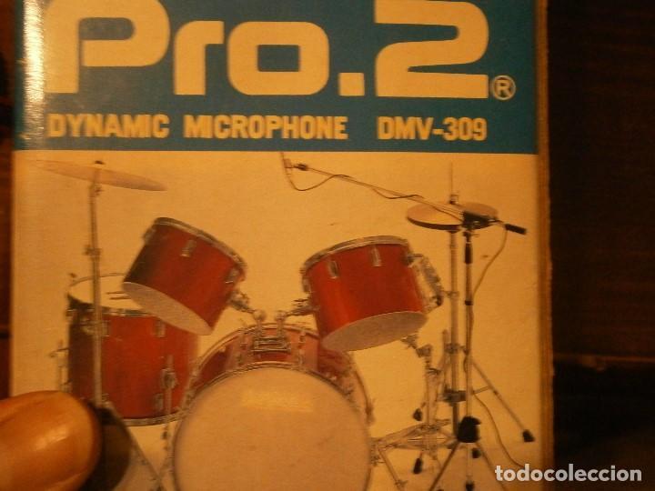 Instrumentos musicales: DYNAMIC, 309, MICROPHONE PRO AÑOS 80 BUEN ESTADO, - Foto 13 - 222367933
