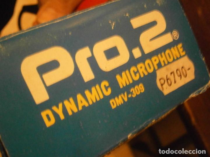 Instrumentos musicales: DYNAMIC, 309, MICROPHONE PRO AÑOS 80 BUEN ESTADO, - Foto 16 - 222367933