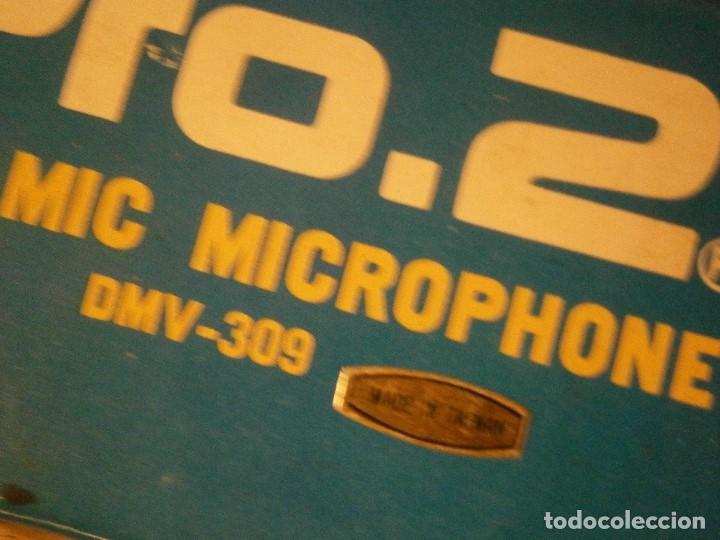 Instrumentos musicales: DYNAMIC, 309, MICROPHONE PRO AÑOS 80 BUEN ESTADO, - Foto 18 - 222367933