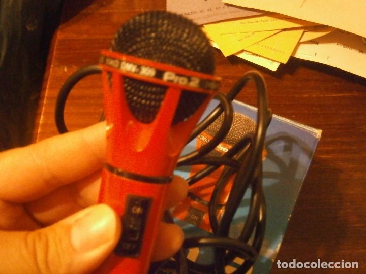Instrumentos musicales: DYNAMIC, 309, MICROPHONE PRO AÑOS 80 BUEN ESTADO, - Foto 20 - 222367933