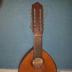 Instrumentos musicales: BANDURRIA PARA RESTAURAR FABRICA DE GUITARRAS SALVADOR IBAÑEZ E HIJOS VALENCIA 60 CM LARGO. Lote 222384647