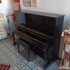 Instrumentos musicales: PIANO VERTICAL YAMAHA U1 (1977). Lote 222412607