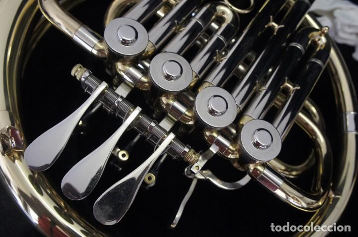 Instrumentos musicales: Trompa marca Conductor, Conservatorio. French Horn, Corno Francés. - Foto 3 - 222571455