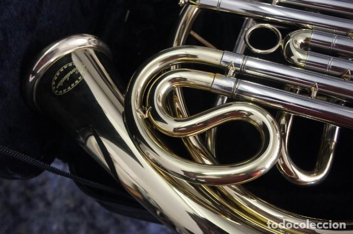 Instrumentos musicales: Trompa marca Conductor, Conservatorio. French Horn, Corno Francés. - Foto 4 - 222571455