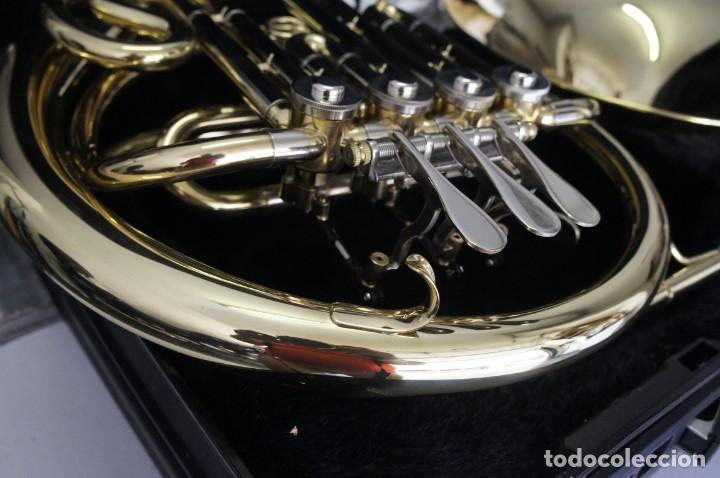 Instrumentos musicales: Trompa marca Conductor, Conservatorio. French Horn, Corno Francés. - Foto 5 - 222571455