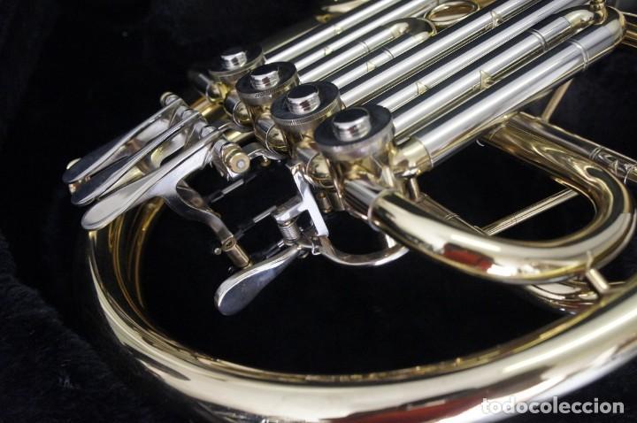 Instrumentos musicales: Trompa marca Conductor, Conservatorio. French Horn, Corno Francés. - Foto 6 - 222571455