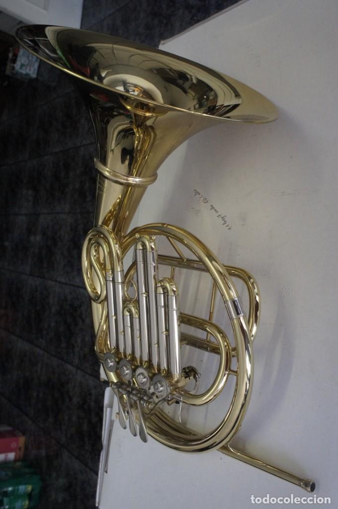 Instrumentos musicales: Trompa marca Conductor, Conservatorio. French Horn, Corno Francés. - Foto 8 - 222571455