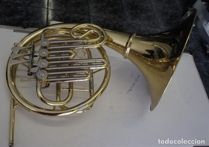 Instrumentos musicales: Trompa marca Conductor, Conservatorio. French Horn, Corno Francés. - Foto 10 - 222571455