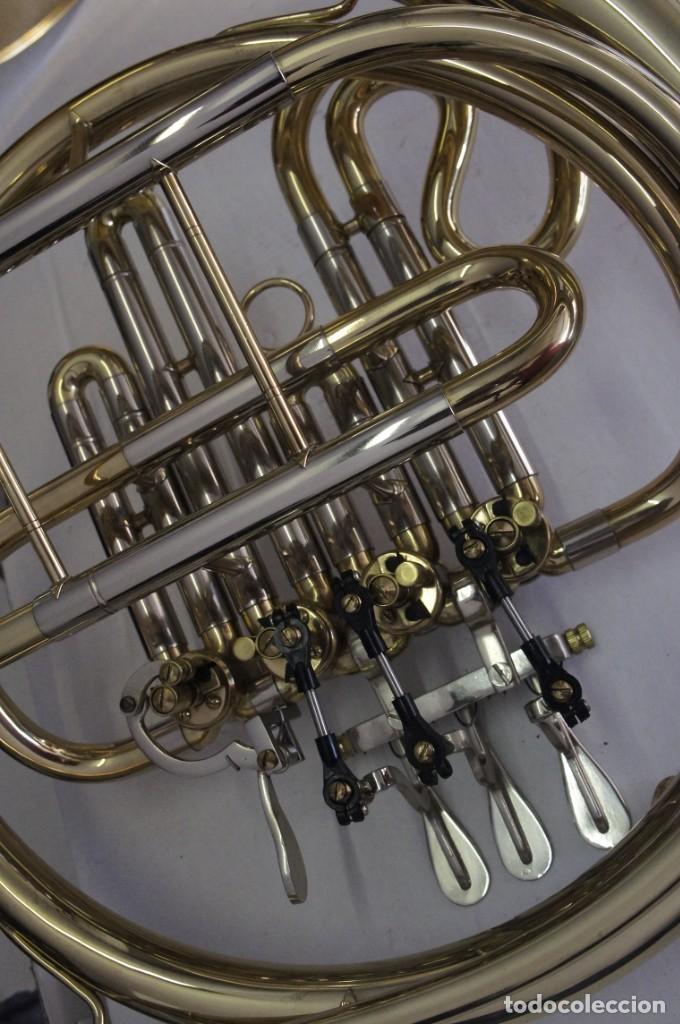 Instrumentos musicales: Trompa marca Conductor, Conservatorio. French Horn, Corno Francés. - Foto 12 - 222571455