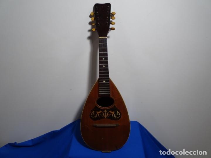 BANDOLIN A. WAGNER Y LEVIEN SUCS.MEXICO.ULTIMO MODELO DE LEON FRANCHETTE.CHICAGO. (Música - Instrumentos Musicales - Cuerda Antiguos)