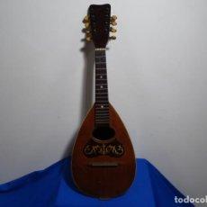 Instrumentos musicales: BANDOLIN A. WAGNER Y LEVIEN SUCS.MEXICO.ULTIMO MODELO DE LEON FRANCHETTE.CHICAGO.. Lote 222614916