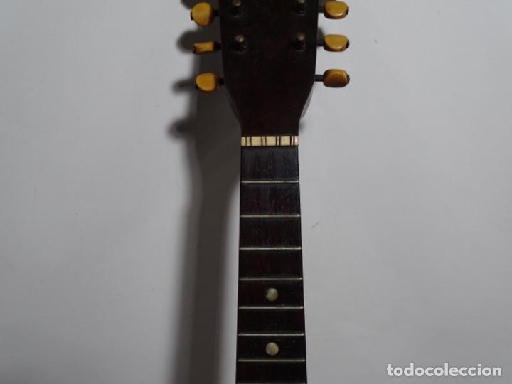 Instrumentos musicales: BANDOLIN A. WAGNER Y LEVIEN SUCS.MEXICO.ULTIMO MODELO DE LEON FRANCHETTE.CHICAGO. - Foto 5 - 222614916