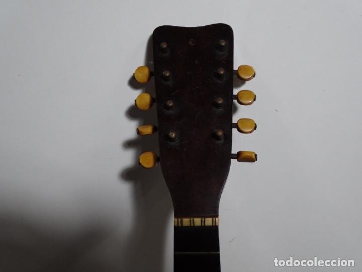 Instrumentos musicales: BANDOLIN A. WAGNER Y LEVIEN SUCS.MEXICO.ULTIMO MODELO DE LEON FRANCHETTE.CHICAGO. - Foto 6 - 222614916