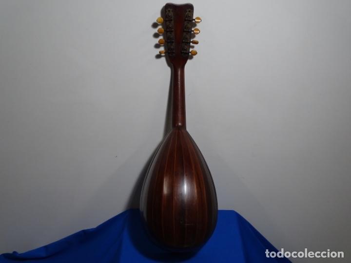 Instrumentos musicales: BANDOLIN A. WAGNER Y LEVIEN SUCS.MEXICO.ULTIMO MODELO DE LEON FRANCHETTE.CHICAGO. - Foto 7 - 222614916