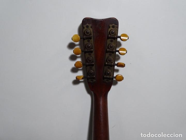 Instrumentos musicales: BANDOLIN A. WAGNER Y LEVIEN SUCS.MEXICO.ULTIMO MODELO DE LEON FRANCHETTE.CHICAGO. - Foto 10 - 222614916