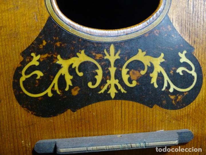 Instrumentos musicales: BANDOLIN A. WAGNER Y LEVIEN SUCS.MEXICO.ULTIMO MODELO DE LEON FRANCHETTE.CHICAGO. - Foto 12 - 222614916