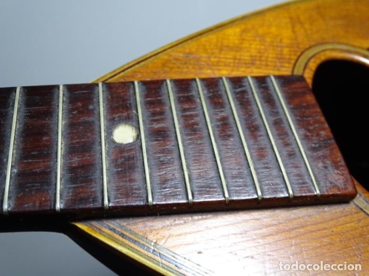 Instrumentos musicales: BANDOLIN A. WAGNER Y LEVIEN SUCS.MEXICO.ULTIMO MODELO DE LEON FRANCHETTE.CHICAGO. - Foto 13 - 222614916