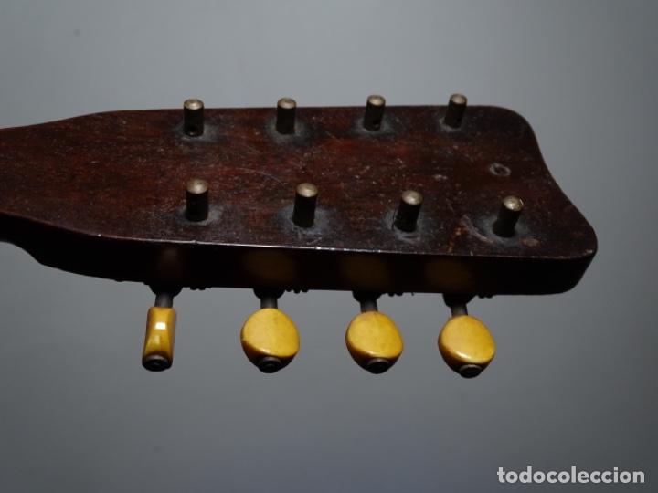 Instrumentos musicales: BANDOLIN A. WAGNER Y LEVIEN SUCS.MEXICO.ULTIMO MODELO DE LEON FRANCHETTE.CHICAGO. - Foto 15 - 222614916