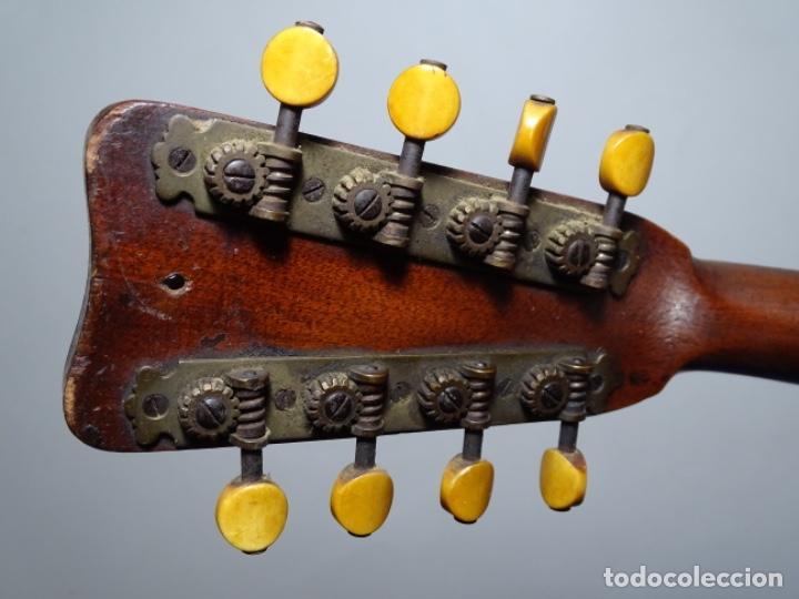 Instrumentos musicales: BANDOLIN A. WAGNER Y LEVIEN SUCS.MEXICO.ULTIMO MODELO DE LEON FRANCHETTE.CHICAGO. - Foto 16 - 222614916