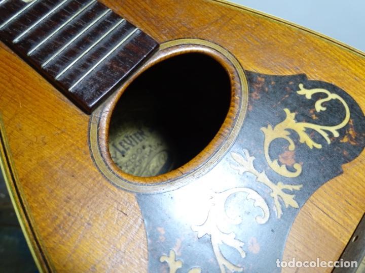 Instrumentos musicales: BANDOLIN A. WAGNER Y LEVIEN SUCS.MEXICO.ULTIMO MODELO DE LEON FRANCHETTE.CHICAGO. - Foto 19 - 222614916