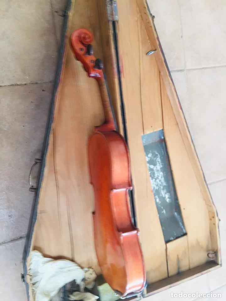 Instrumentos musicales: Violin antiguo frances tomas breton - Foto 4 - 222711660