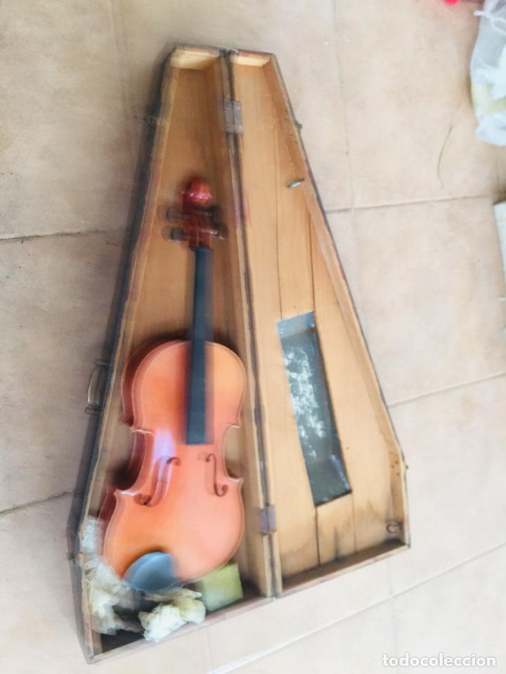 Instrumentos musicales: Violin antiguo frances tomas breton - Foto 5 - 222711660