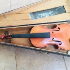 Instrumentos musicales: VIOLIN ANTIGUO FRANCES TOMAS BRETON. Lote 222711660