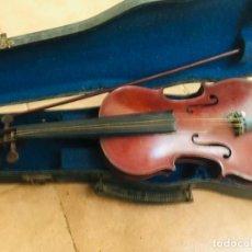 Instrumentos musicales: VIOLIN ANTIGUO FRANCES PAUL BEUSCHER. Lote 222712078