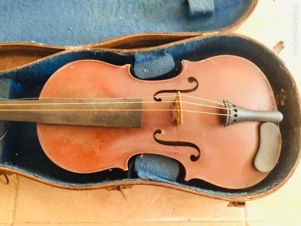Instrumentos musicales: Violin frances para restaurar Copie de Nicolaus amatus - Foto 2 - 222712765